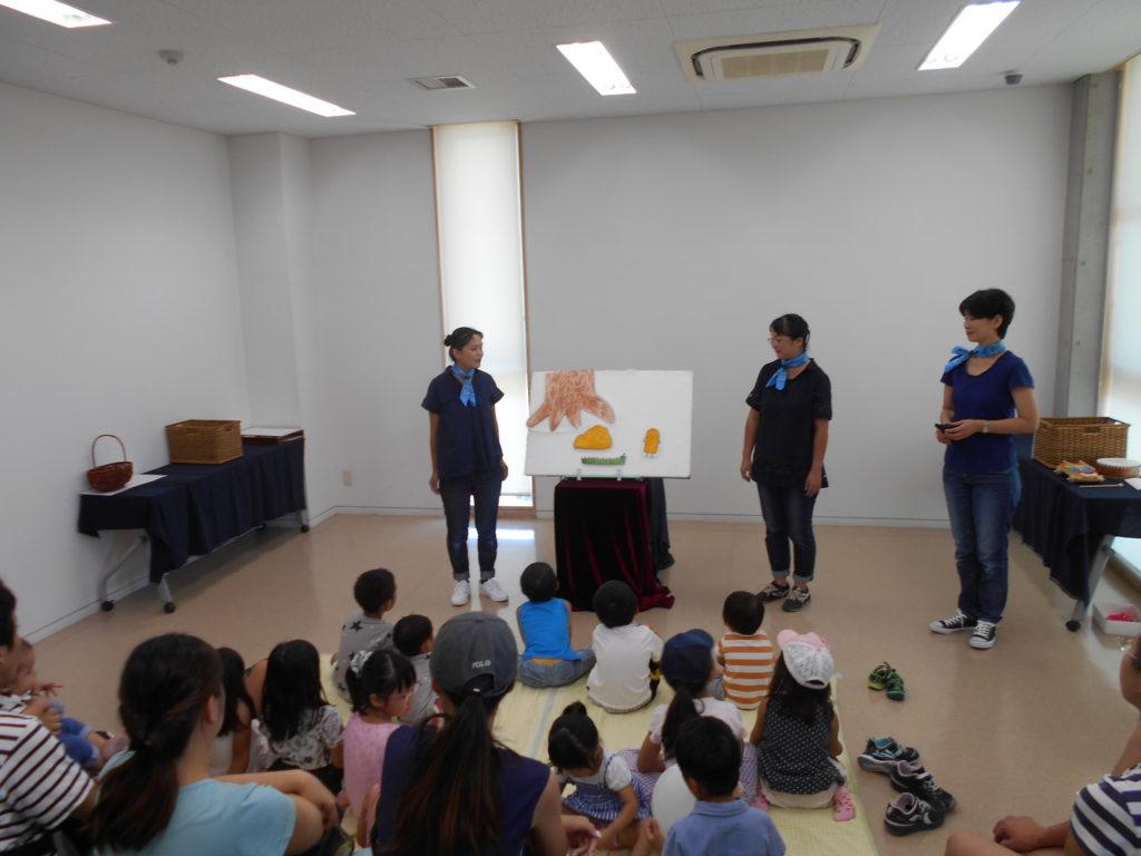 写真:体験講座(おはなし会)